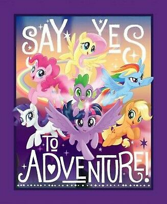 My Little Pony Baby toddler kids quilt