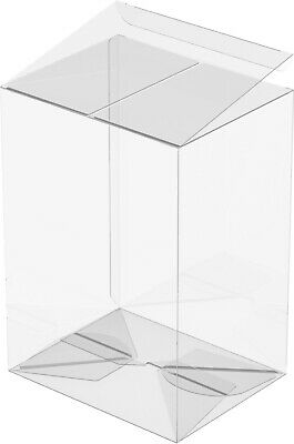 """15 FUNKO POP Protectors Acid-Free Clear Cases For 4"""" Boxes"""