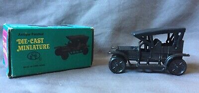 Die Cast 1914 Car MINITURE PENCIL SHARPENER boxed Like New Condition Hong Kong