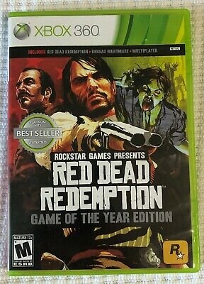 Red Dead Redemption -- Game of the Year Edition (Microsoft Xbox 360, 2011)