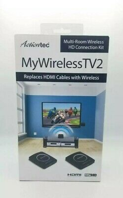 ActionTec MyWireless TV2 Multi-Room Wireless HD Connection Kit -New