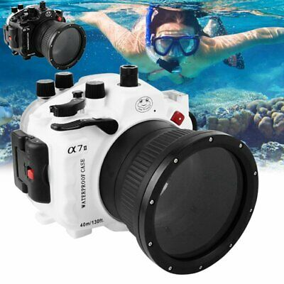Seafrogs Underwater Waterproof Housing Case For Sony A7II 28-70mm Cameras 40M AU
