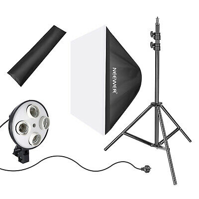 Photo Studio Photography Light Soft Box Reflector with Adjustable Light Stand