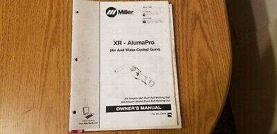 MILLER MSW-41T, MSW-42T and LMSW-52T, Spot Welding Owner's Manual