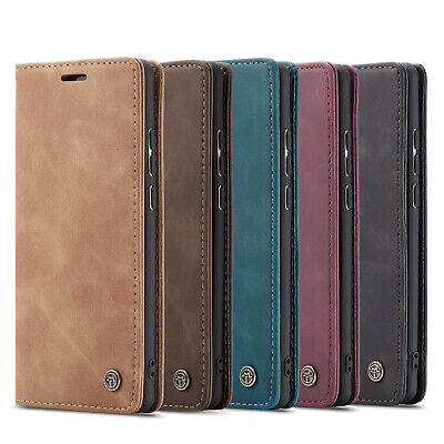 For Samsung Galaxy A70 A40 A50 A20e Case Luxury Flip Leather Wallet Stand Cover
