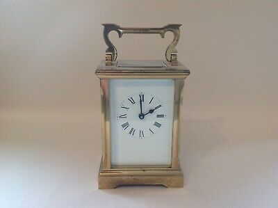 Stunning Vintage Carriage Clock Fully Restored Feb 2019