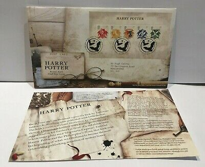 GB 2007 FDC - HARRY POTTER MINIATURE SHEET - Date of Issue 17 July 2007