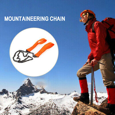 Outdoor hand chain saw alloy hacksaw mountaineering wild chain saw survival tool