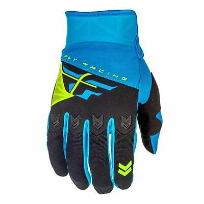 Fly Racing 2018 F-16 Adult MX Off Road Motocross Gloves - Blue/Black