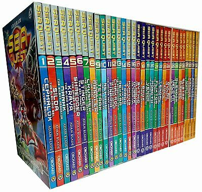 Adam Blade Sea Quest Series 1-8 Collection 32 Books Set Collection NEW