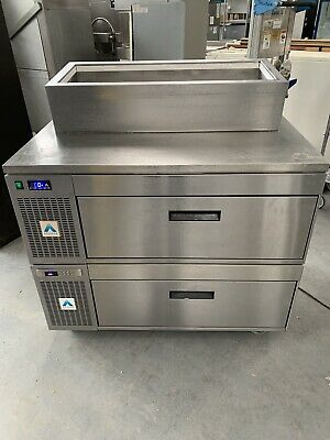 Adande VCS Side Engine Double Stack Catering  Refrigerator And Blast Chiller