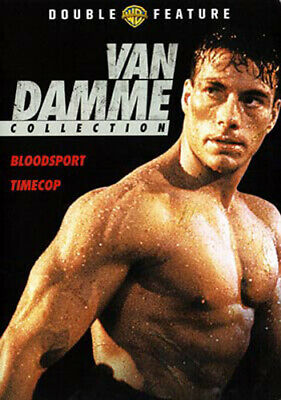 Bloodsport (1988) / Timecop (1994) DVD NEW
