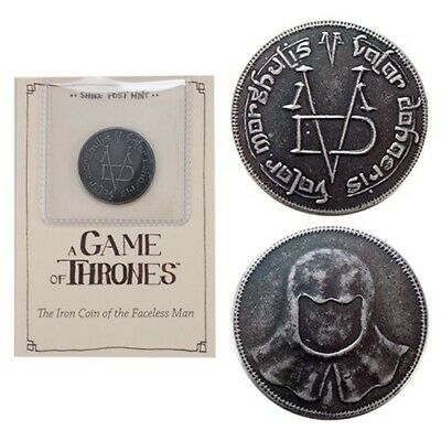 Game of Thrones The Iron Coin of the Faceless Man - Shire Mint Post