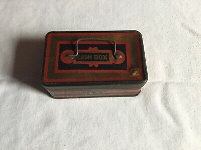 J.S Fry And Sons Ltd Vintage Chocolate Box / Cash Tin Box