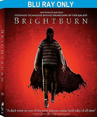 Brightburn (2019) BLU-RAY ONLY + CASE + ARTWORK *** Disc never been watched ***