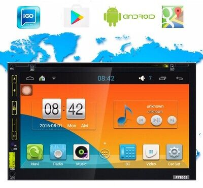 Stereo Auto Android Cd Dvd Autoradio 2Din Bluetooth Mp5 Aux Wifi Gps Retrocamera
