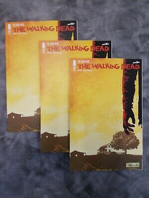 THE WALKING DEAD 193 1st PRINT THE FARMHOUSE  LOT OF 3 COPIES!!