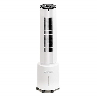 Olimpia Splendid 99345 Peler 5, 5L Water Tank Air Cooler with Remote Control and