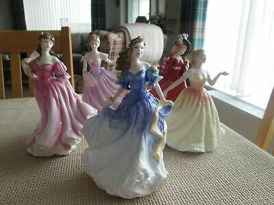 Royal Doulton Ladies Figure Of The Year Figurines