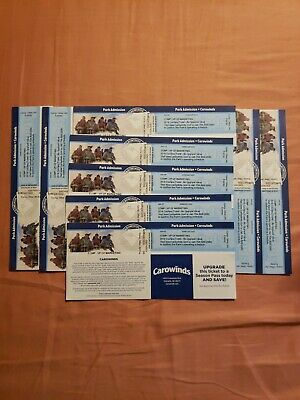 Carowinds Ticket Charlotte NC