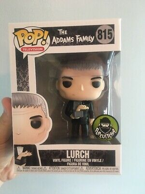 The Addams Family Lurch With Thing Exclusive Funko Pop
