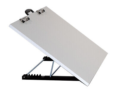 "SCHEEWE  PORTABLE ART STUDIO BOARD 20 X 26""w/ ADJUSTABLE  ANGLE Work Surface'"