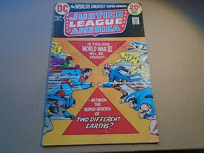 JUSTICE LEAGUE OF AMERICA #108 Freedom Fighters DC Comics 1973 G/VG