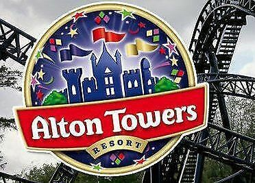 4 x ALTON TOWERS E-Tickets - SATURDAY 24th AUGUST (24 .08.19) SCHOOL HOLIDAYS