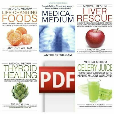 Medical Medium 🔥Liver Rescue Thyroid Celery Juice🔥 By Anthony William P-D-F ☑
