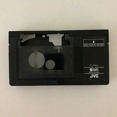 JVC C-P7U VHS-C Cassette Adapter 100% Authentic Free Priority Shipping