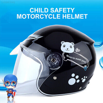 A8DB Breathable Motorcycle Open Face Helmet Applique Protection Security