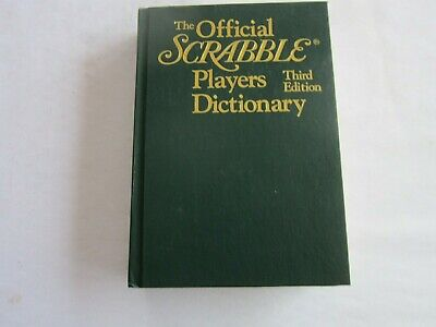 The Official Scrabble Players Dictionary / HB / 1995