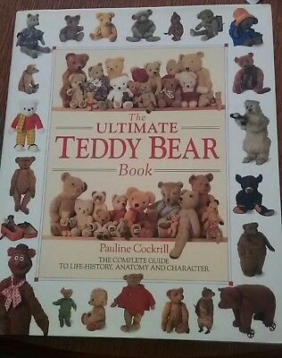 The Ultimate Teddy Book by Pauline Cockrill - hard cover - in great condition