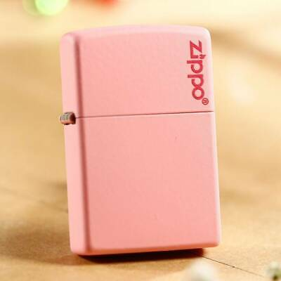 Pink Matte Zippo Lighter 238ZL with Logo - AU Shipping