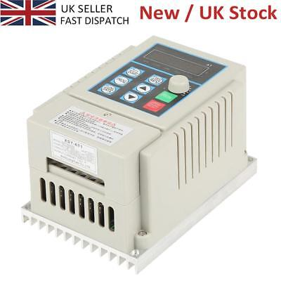 AC 220V 0.45kW 2.5A Variable Frequency Drive VFD Speed Inverter Single Phase