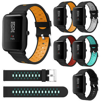 Silicone Wrist Band Strap For Xiaomi Huami Amazfit Bip Lite Youth Smart Watch