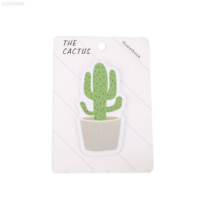 BEB6 Cute Scrapbooking Paster Diary Cactus Paper Sticker Sign Label Sticker