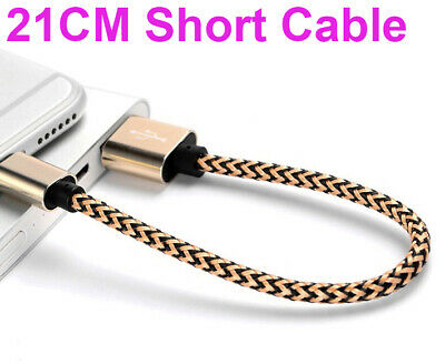 21 cm USB Lightning Cable Cord Data for Apple Charger iPhone 6 iPad X 8 7 plus 5