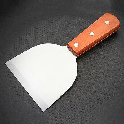 Turner Spatula Grill Flipper Grilling Cake Stainless Steel Metal Burger