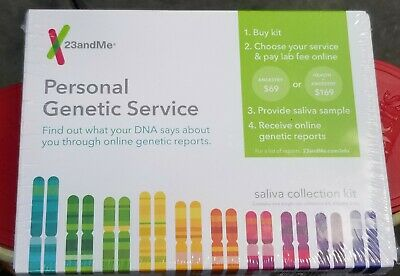 BNIB 23andMe Personal Genetic Service Kit Ancestry Health & Ancestry DNA