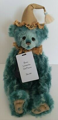 Charlie Bears- Bozo  - Isabelle Lee Collection - Ltd Edt 84/300 - Mohair - 2019