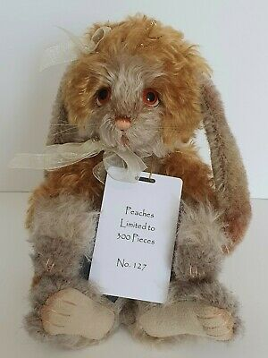Charlie Bears Peaches - Isabelle Lee Collection -Ltd Edt 127/300 - Mohair - 2019