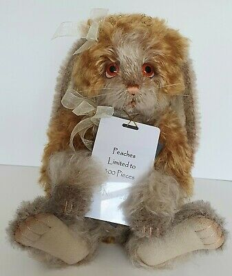 Charlie Bears Peaches - Isabelle Lee Collection -Ltd Edt 128/300 - Mohair - 2019