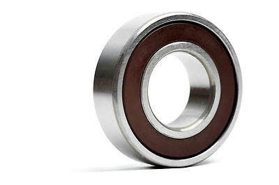 6201 12x32x10mm 2RS Rubber Sealed Radial Deep Groove Ball Bearing