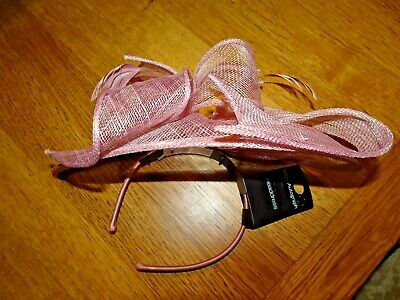 Ladies Pink Wedding Fascinator -  Brand New With Tags - Autograph M&S