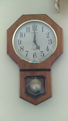 Octagonal Ingraham Regulator Clock