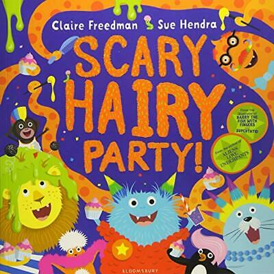 Scary Hairy Party New Paperback Book