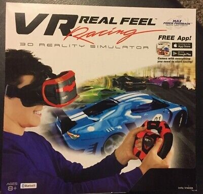 VR REAL FEEL Virtual Reality Car Racing Gaming System Bluetooth