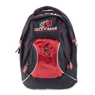 Isle Of Man TT Racing Rucksack,  BackPack  NEW