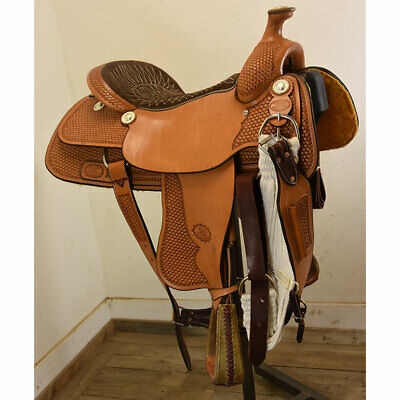 BILLY COOK TEAM Roping Saddle 14 5 in  FQHB - $1,393 23 | PicClick